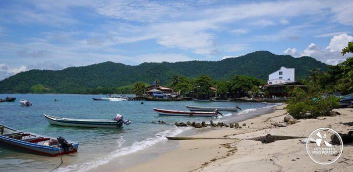 Port de Capurgana en Colombie
