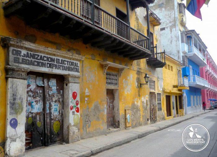 Maison à l'abandon, centre historique, Photos de Cartagena en Colombie