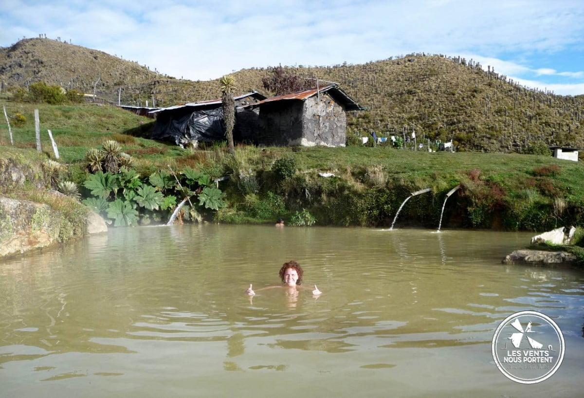 Thermales de Canon, Photos du Parc Los Nevados Colombie