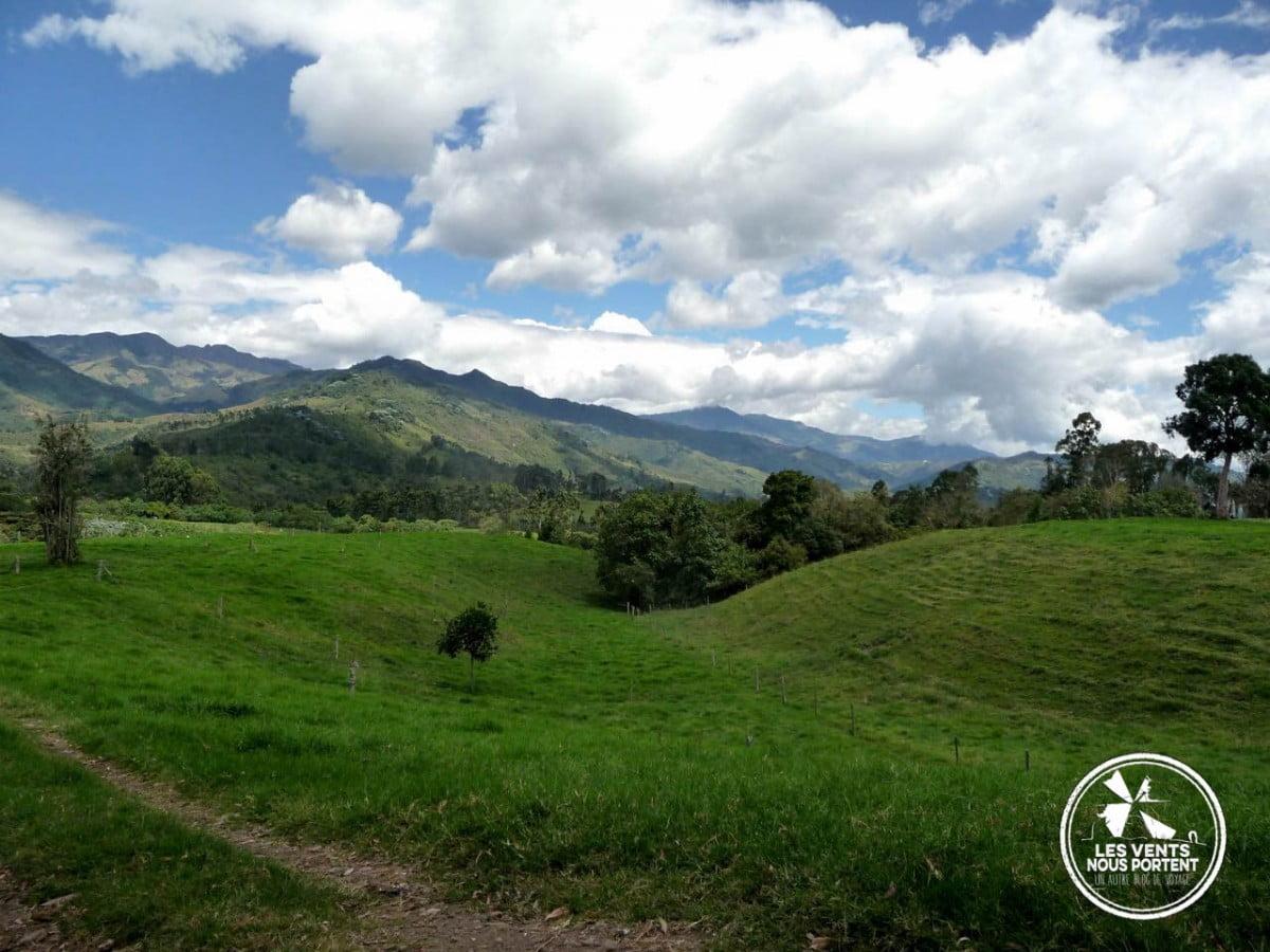 Paysage du Quindio, Photos de Salento Colombie