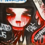 Graffiti Seoul Coree du sud
