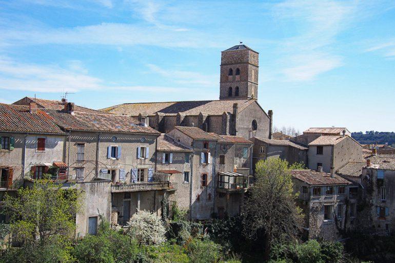 Montolieu village du livre dans l'Aude