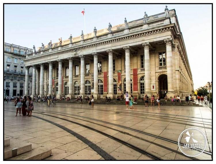 Opéra Grand Theatre Photos de Bordeaux Tourisme Gironde
