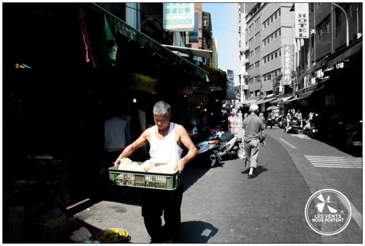 Marché Tamsui Photos de Taipei Voyage Taiwan