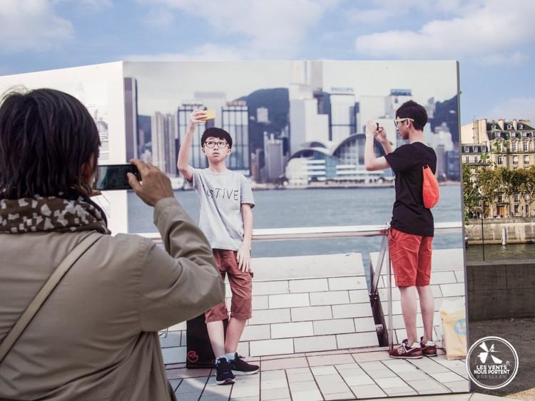 Selfie au Japon par Luis Dorr et Navin Kala Photo Quai 2015 Paris