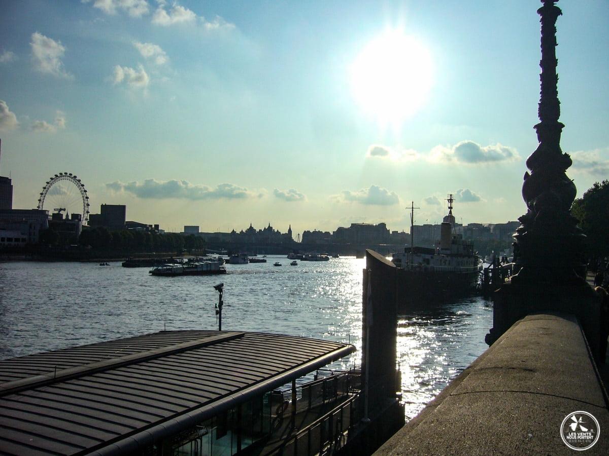 Tamise photos de Londres blog de voyage
