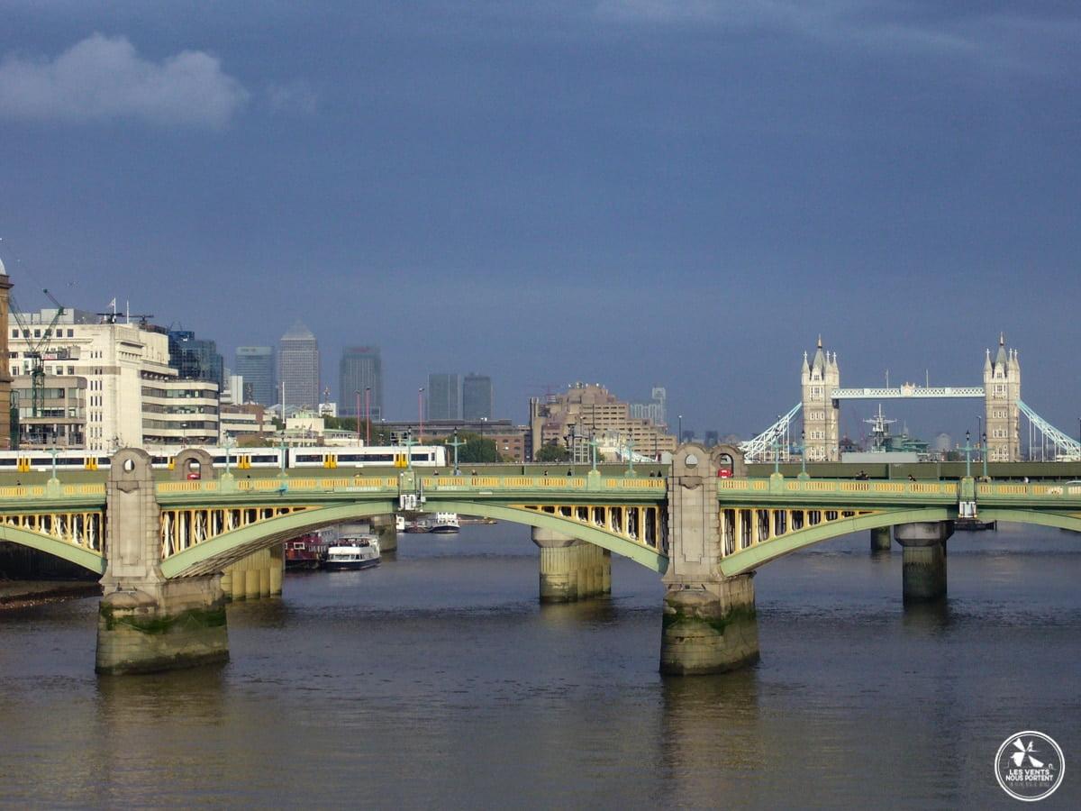 Ponts sur la tamise photos de Londres blog de voyage