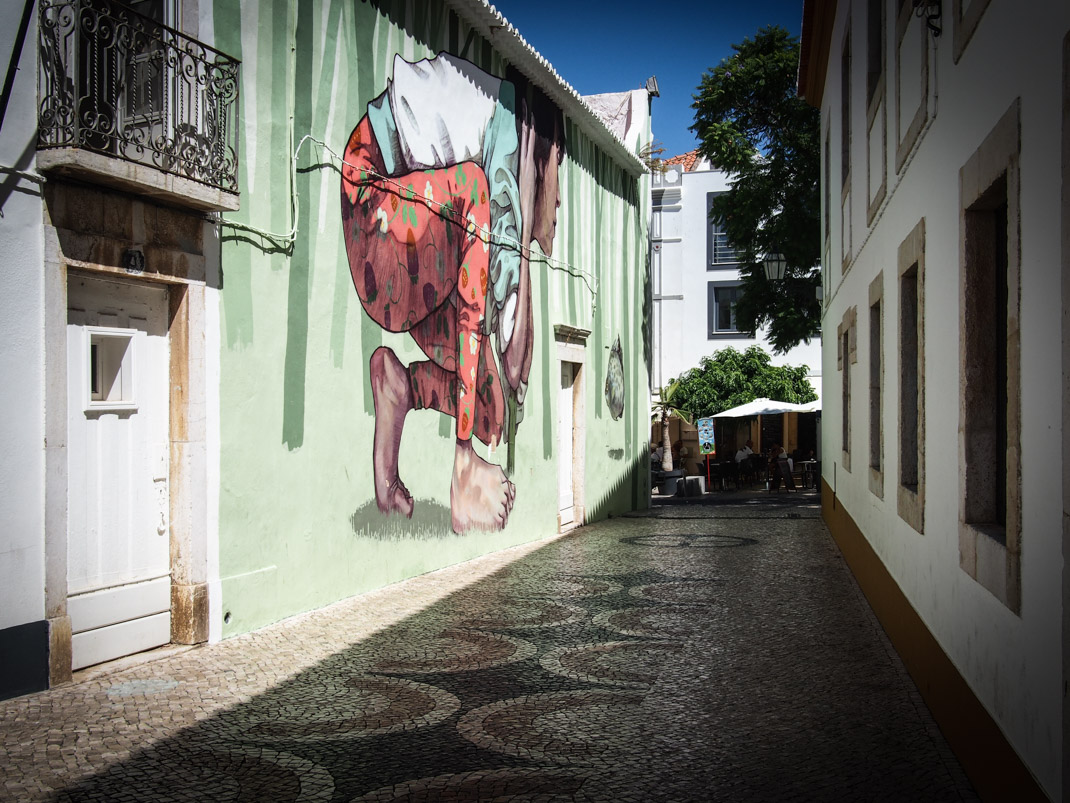 street art lagos algarve portugal