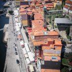 belle vue aerienne de la ribeira depuis le pont dom luis a porto voyage portugal