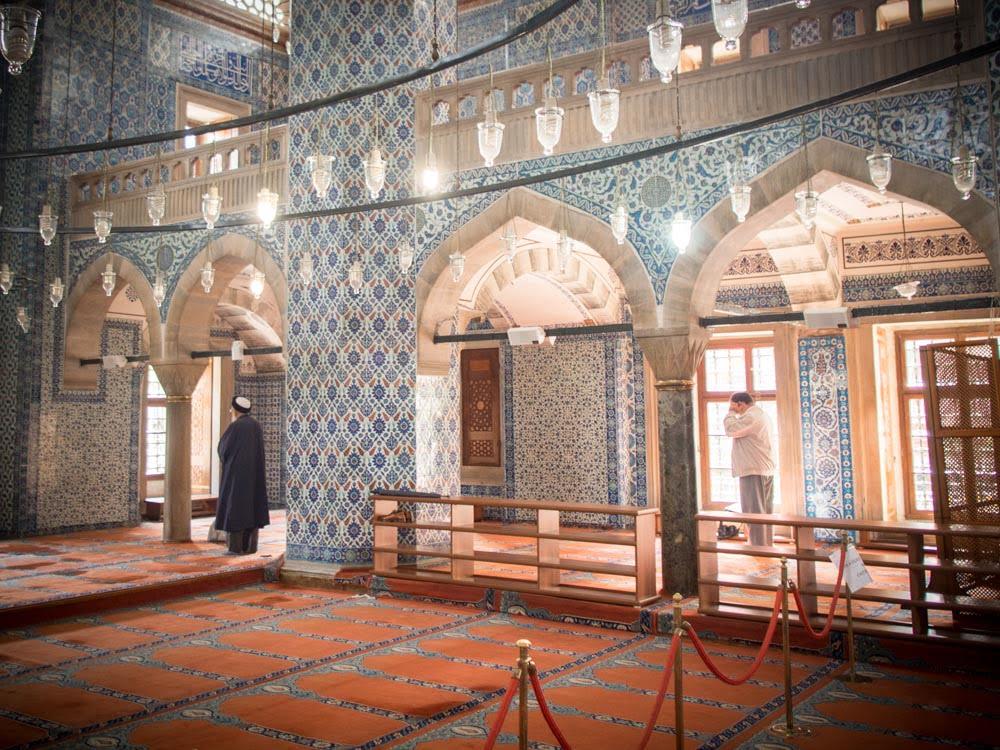mosquée restem paca eminonu istanbul voyage turquie