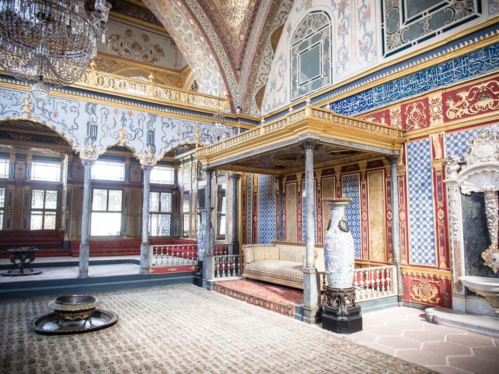 harem du palais topkapi à istanbul