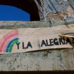reste de la révolution anti pinochet à valparaiso au chili