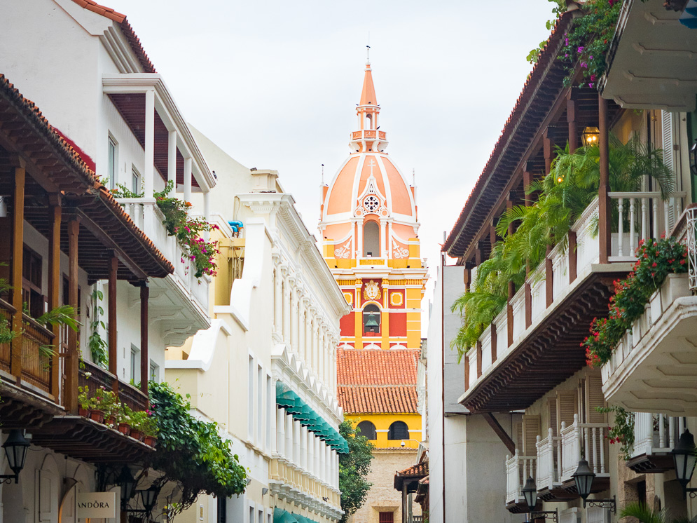 Carthagène des Indes en Colombie