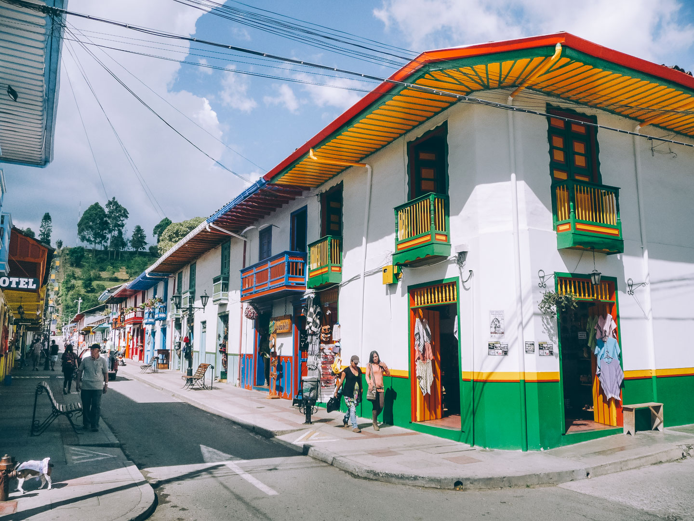 Salento en Colombie